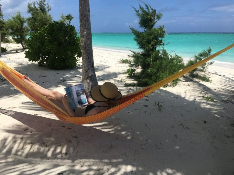 Whitby Beach Cottage - Hammock, shade and a magazine