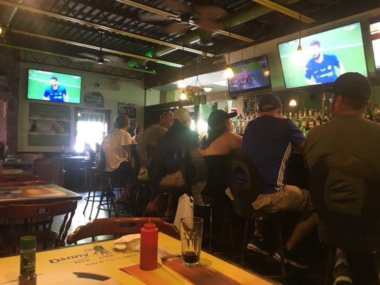 Danny Buoy's Sports Bar on Provo, Turks and Caicos